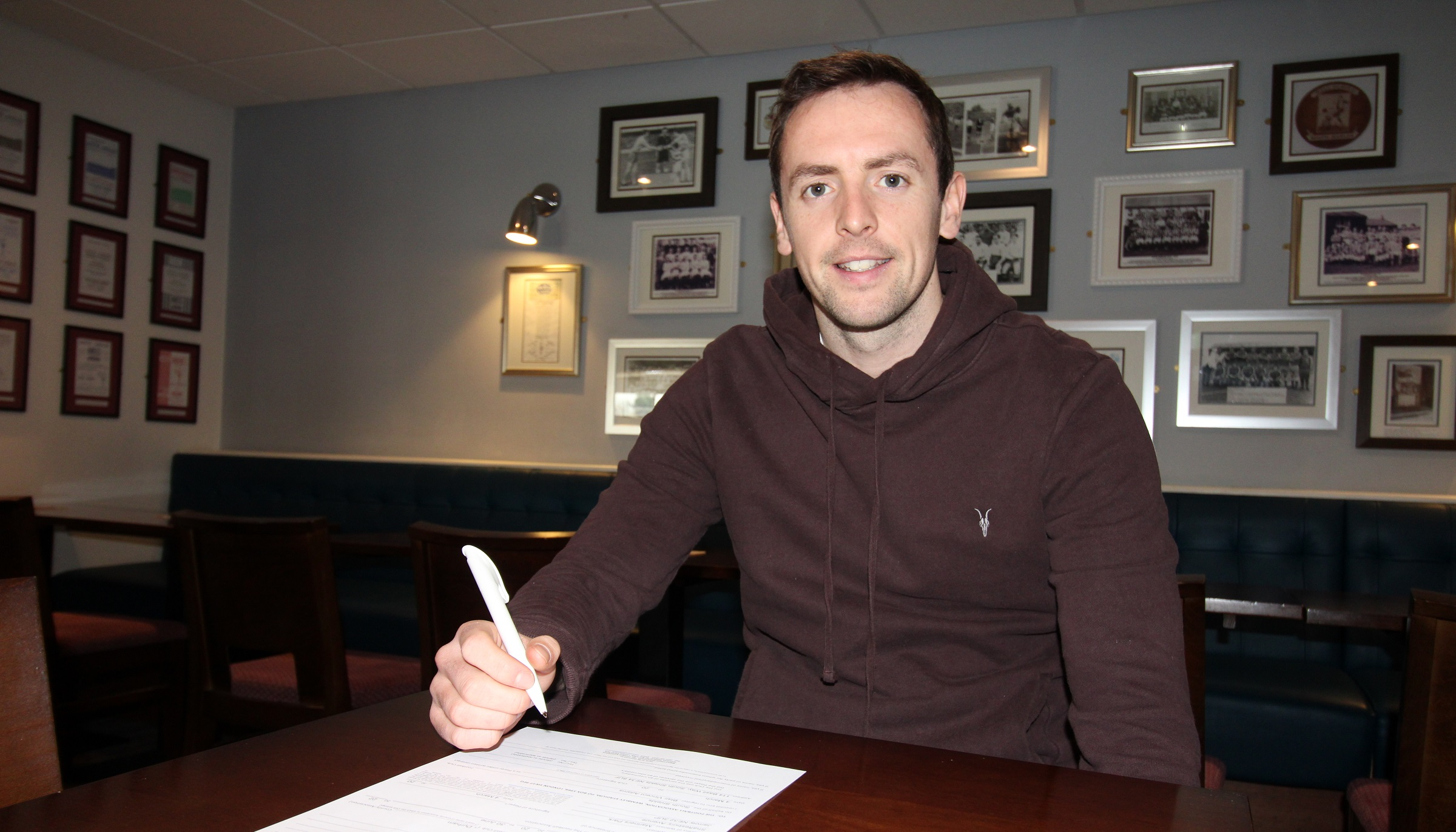 Blair Adams signs new contract with South Shields
