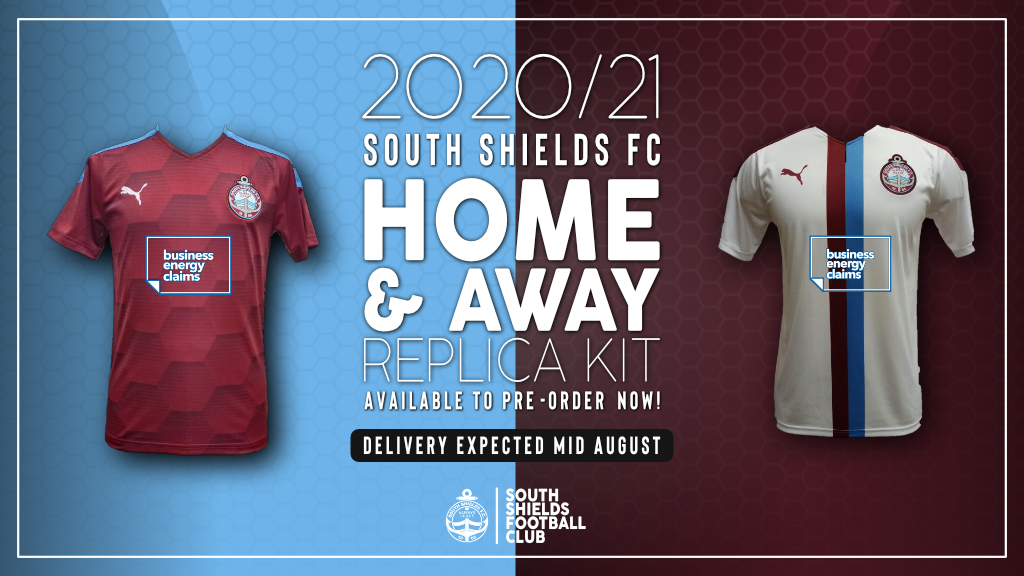 New home and away kits available to pre-order