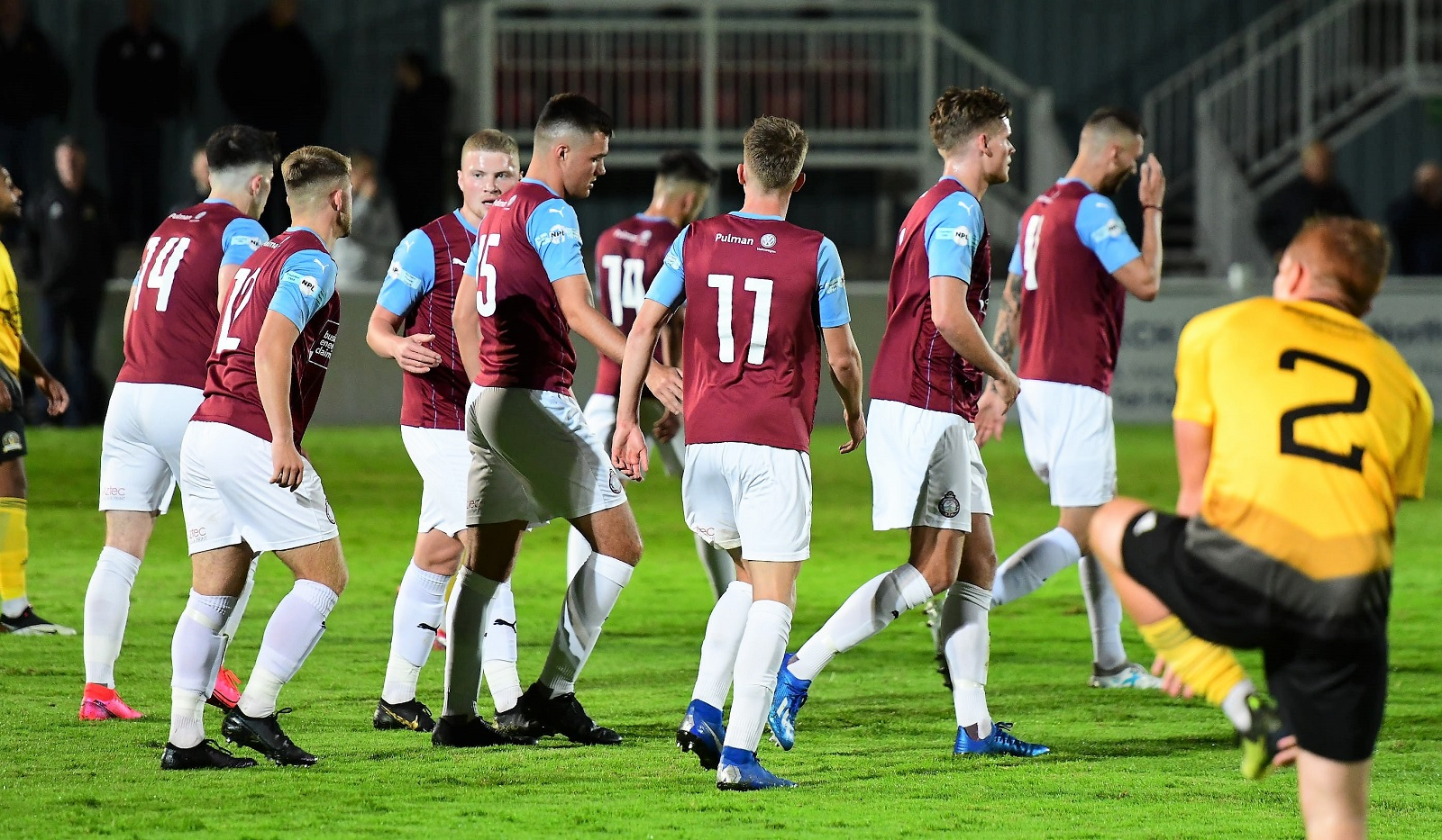 South Shields 3-1 West Auckand Town