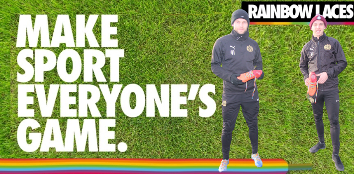 Mariners back Rainbow Laces campaign