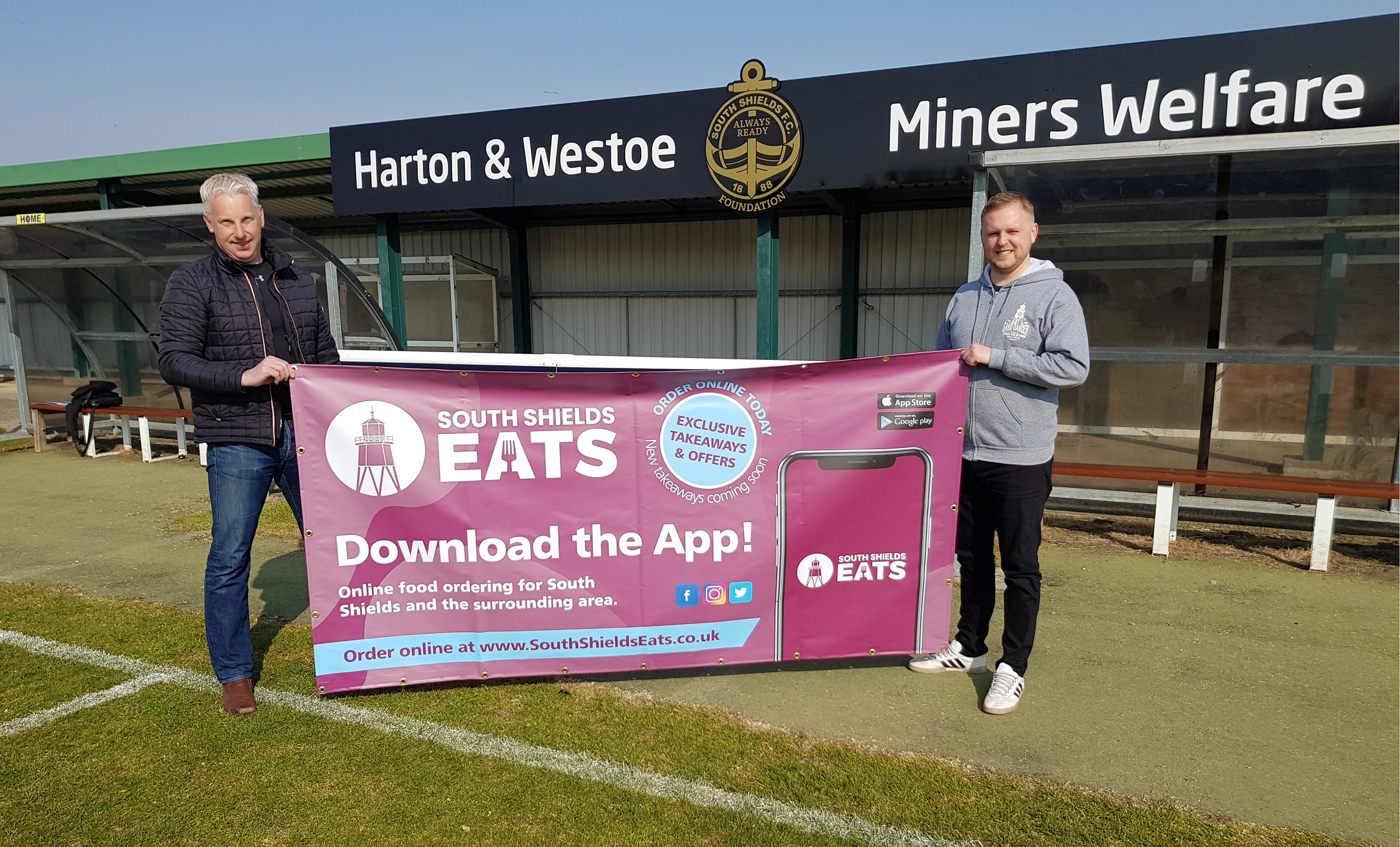 Exciting partnership announced between SSFC Foundation and South Shields Eats