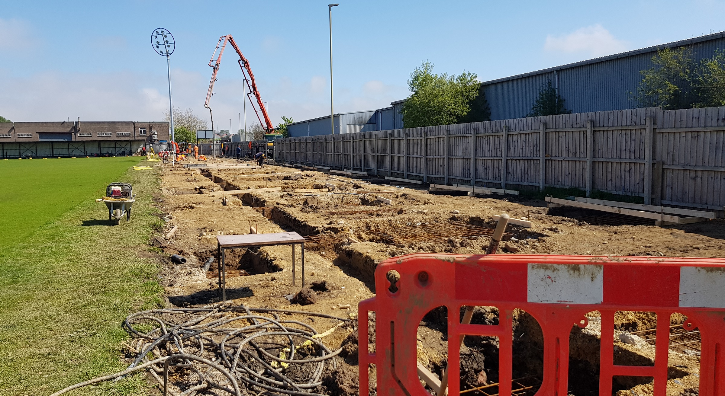 Work to begin on new stand as ground plans given green light