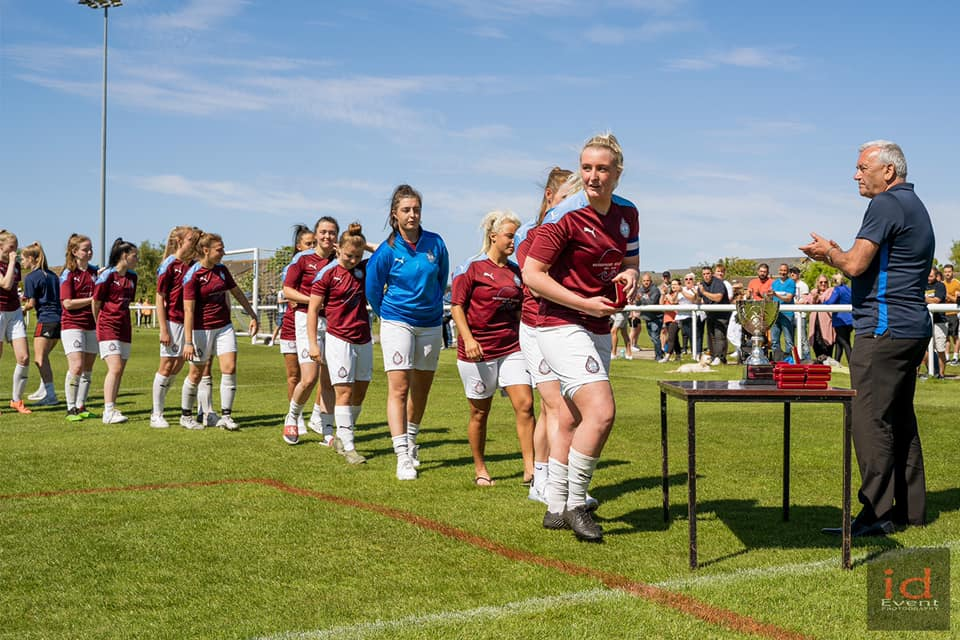 Defeat for SSFC Ladies in County Cup final
