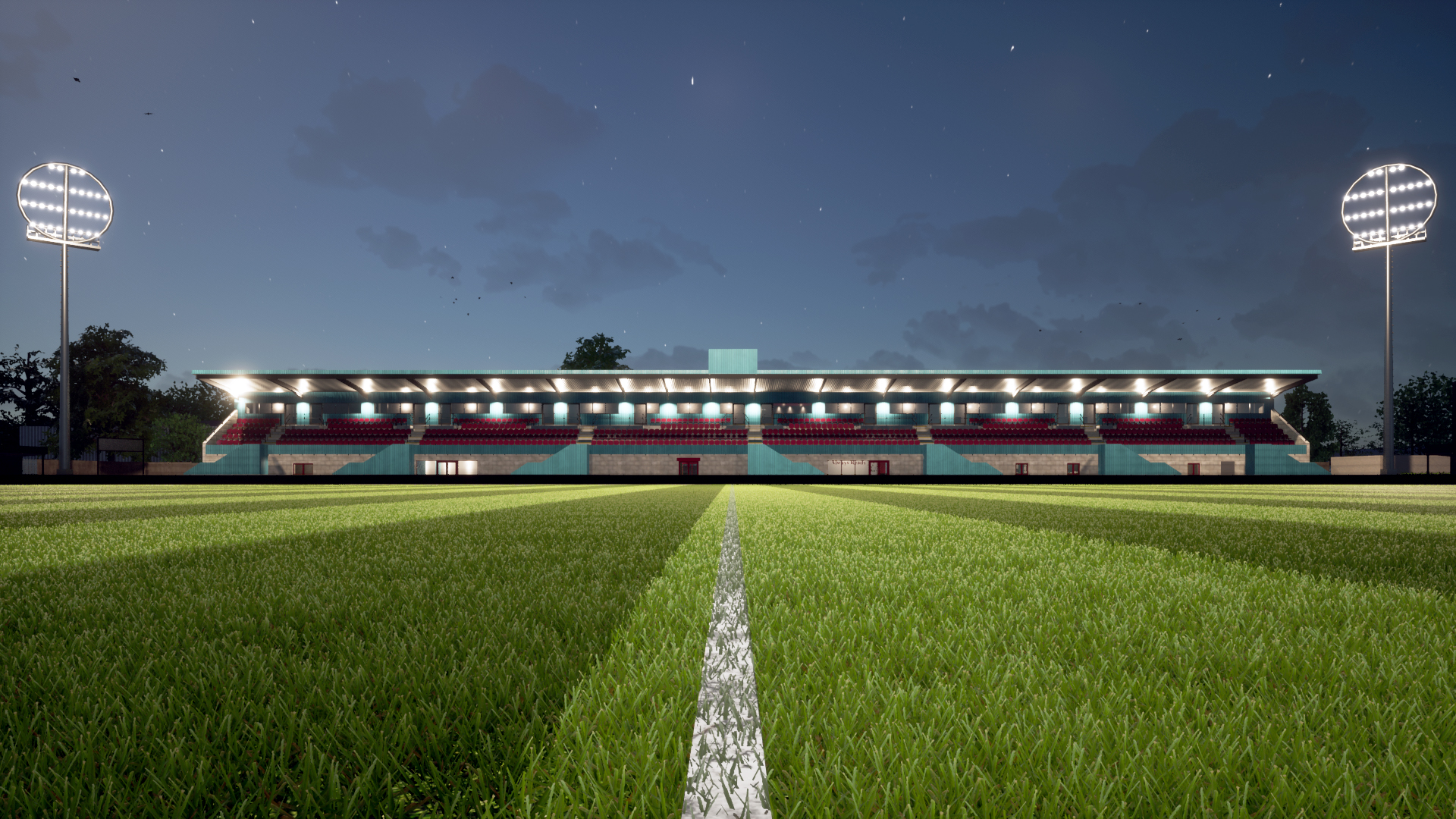 Take a virtual flythrough of our new main stand