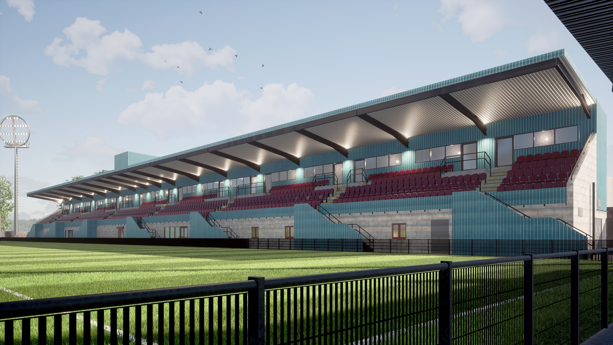 Update on new main stand as artist's impression released