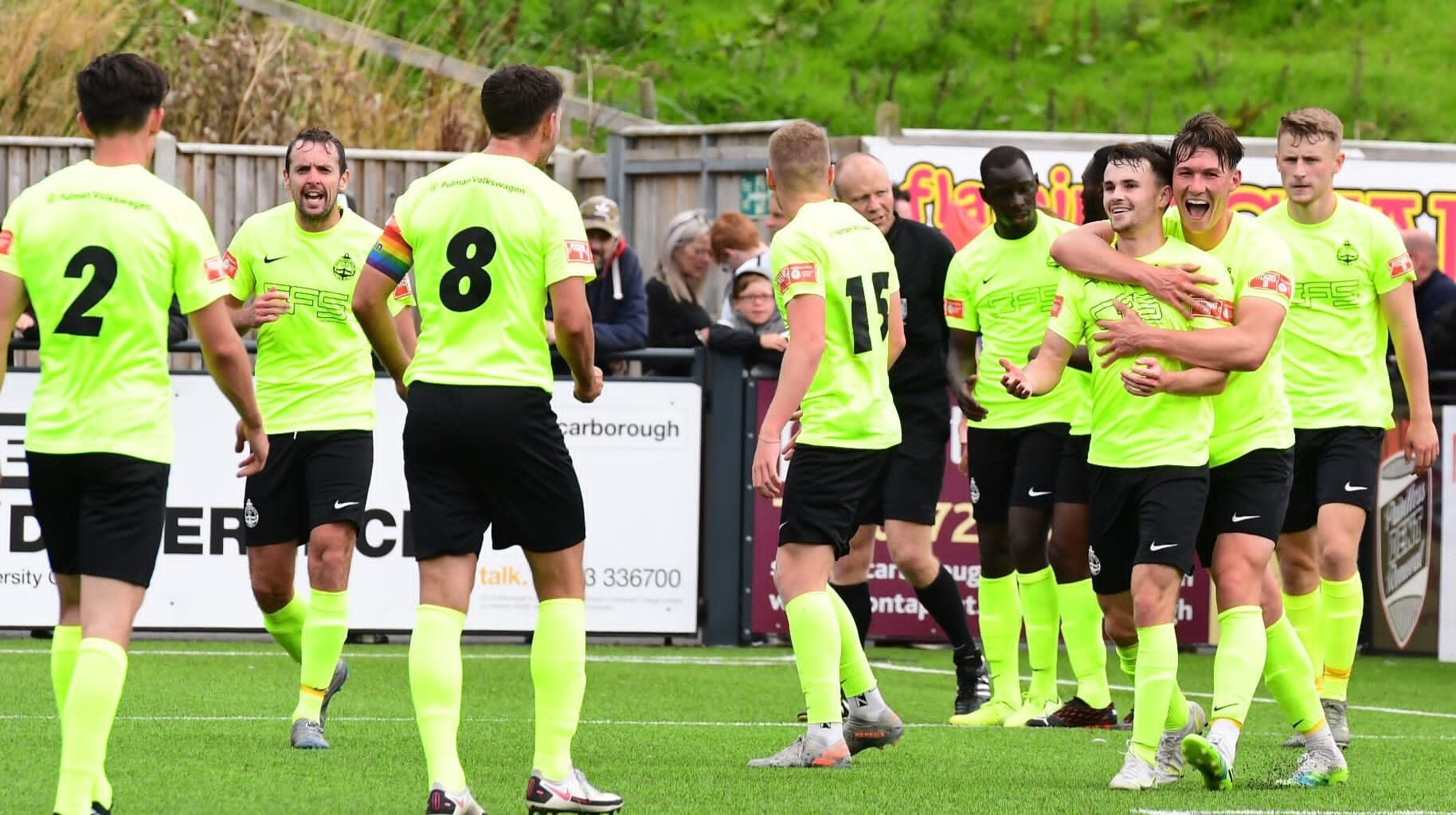 Match report: Scarborough Athletic 0-2 South Shields