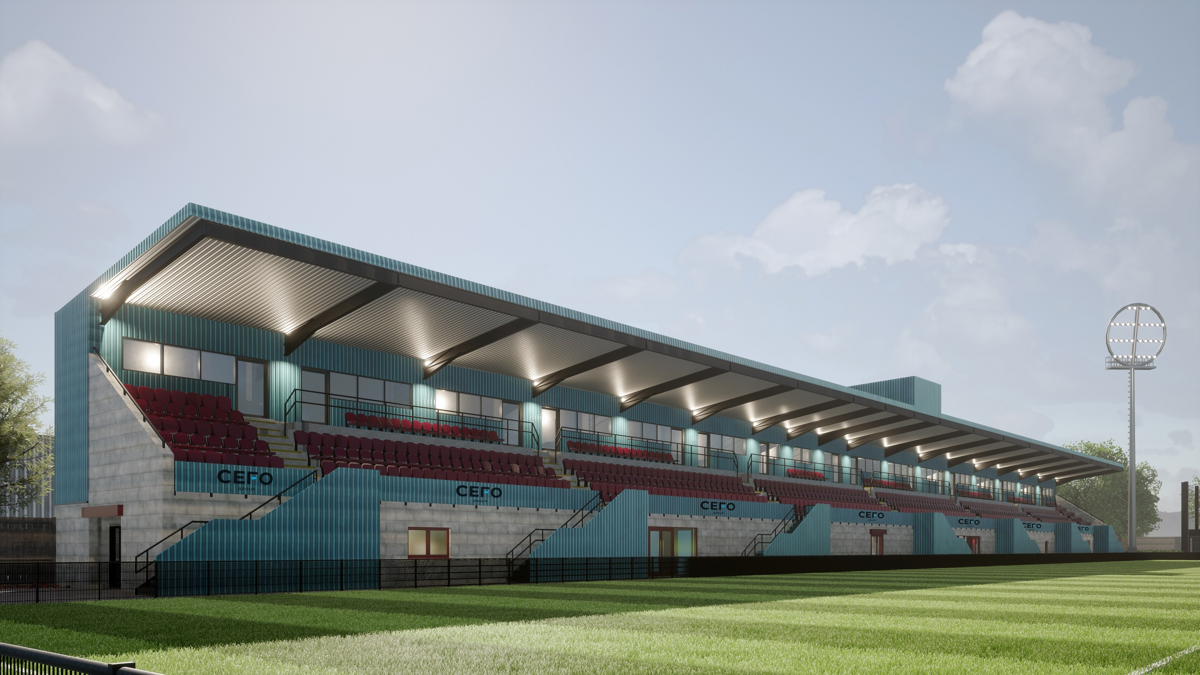 CEFO Group become sponsors of new main stand