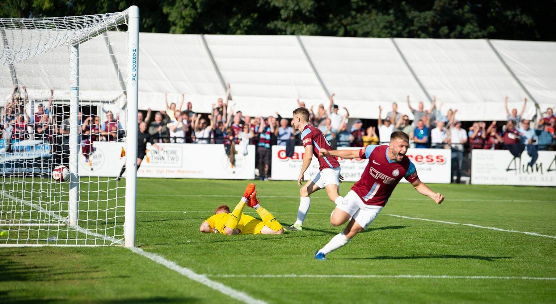 Match report: South Shields 4-1 Grantham Town