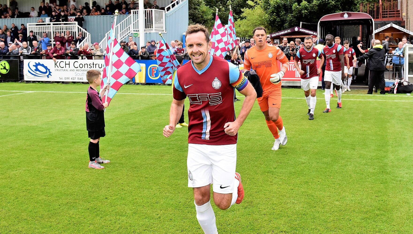 Blair Adams appointed captain of South Shields