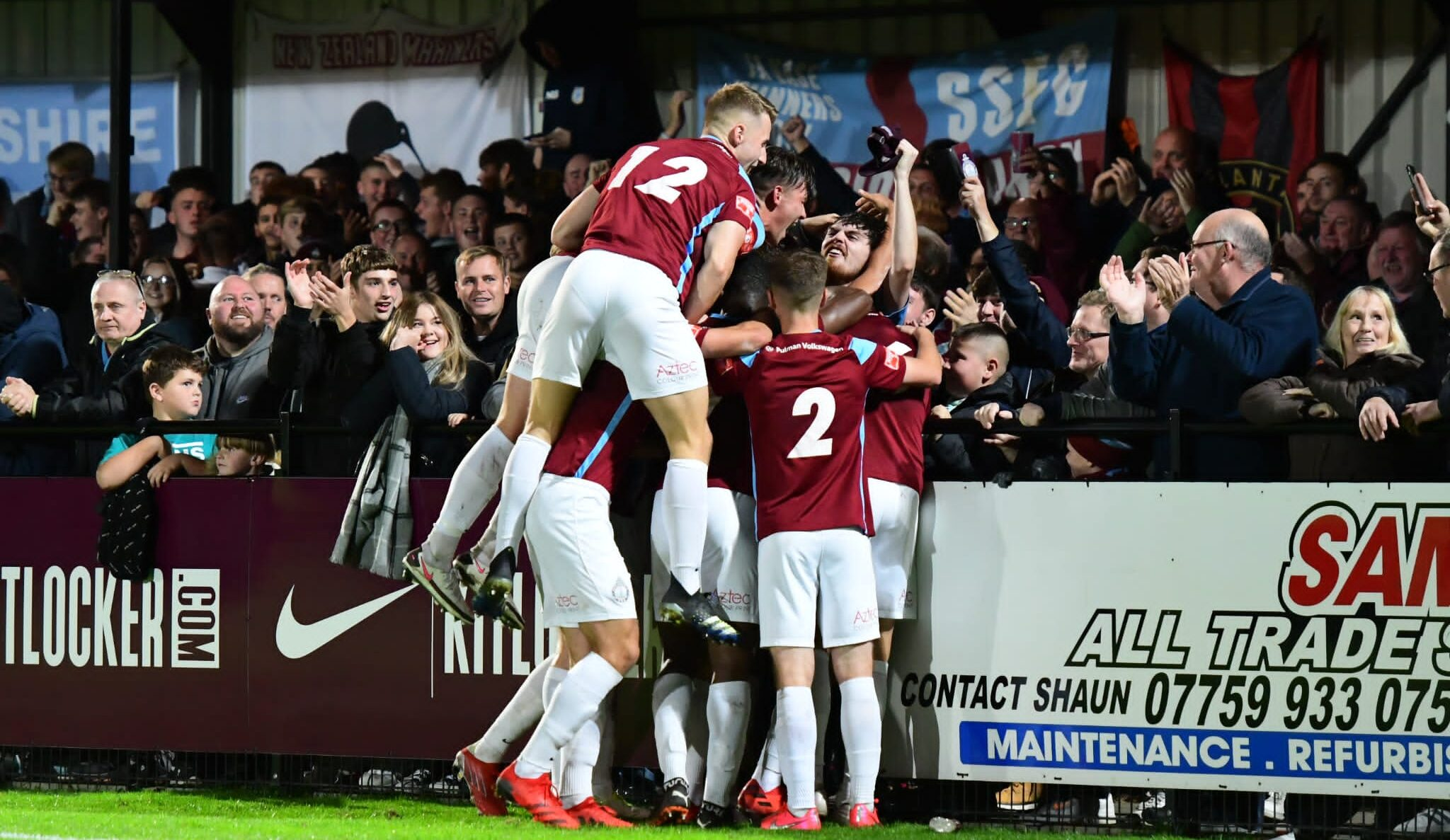 Match Report: South Shields 2-0 Morpeth Town